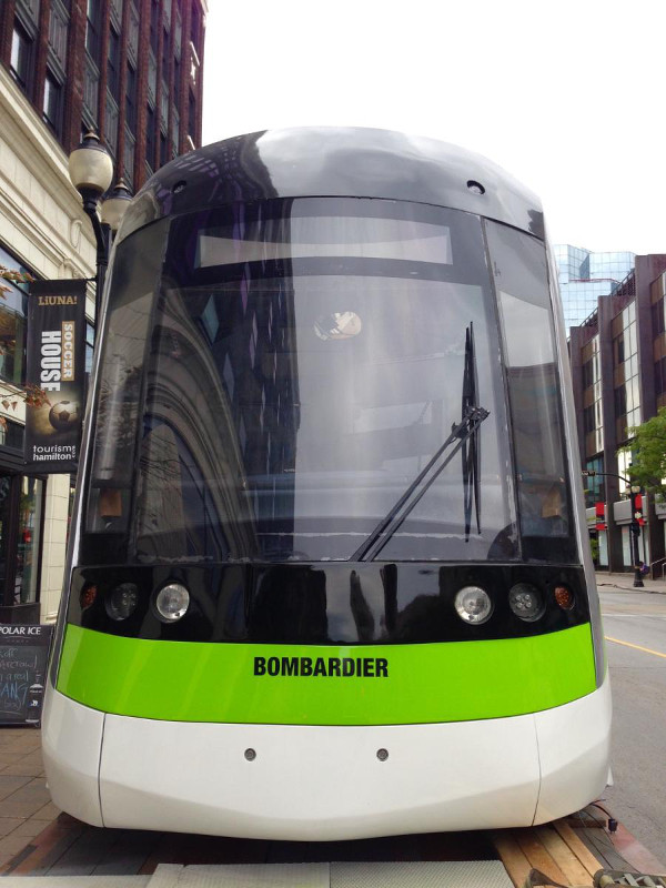 LRT Vehicle at 205 Supercrawl